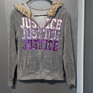 Justice Zip Up